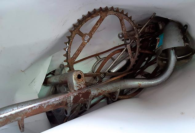 Restauración de bicicleta